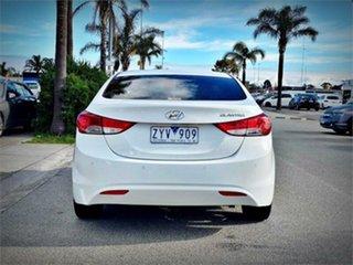 2011 Hyundai Elantra MD Elite White 6 Speed Sports Automatic Sedan