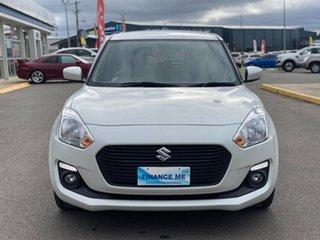 2019 Suzuki Swift AL GL Navigator White 5 Speed Manual Hatchback.