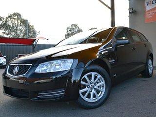2013 Holden Commodore VE II MY12.5 Omega Sportwagon Black 6 Speed Sports Automatic Wagon
