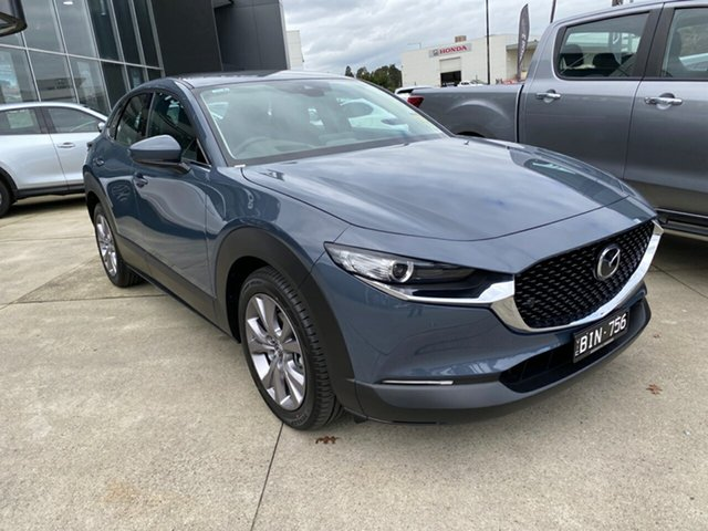 Demo Mazda CX-30 DM2WLA G25 SKYACTIV-Drive Touring, 2020 Mazda CX-30 DM2WLA G25 SKYACTIV-Drive Touring Polymetal Grey 6 Speed Sports Automatic Wagon