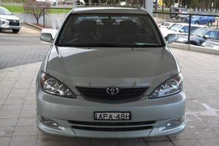 2003 Toyota Camry ACV36R Sportivo Green 4 Speed Automatic Sedan.