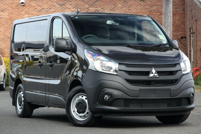 New Mitsubishi Express SN MY21 GLX SWB DCT Hamilton, 2020 Mitsubishi Express SN MY21 GLX SWB DCT Black 6 Speed Sports Automatic Dual Clutch Van