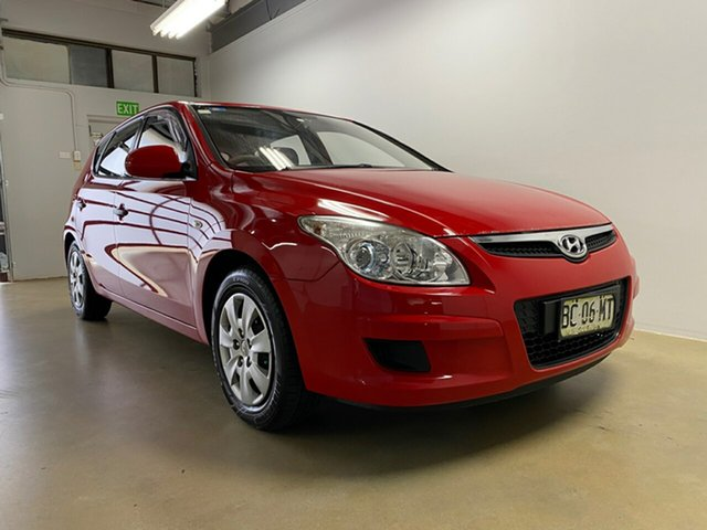 Used Hyundai i30 FD MY09 SX, 2009 Hyundai i30 FD MY09 SX Red 4 Speed Automatic Hatchback