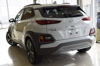 2020 Hyundai Kona OS.3 MY20 Highlander 2WD Chalk White 6 Speed Sports Automatic Wagon