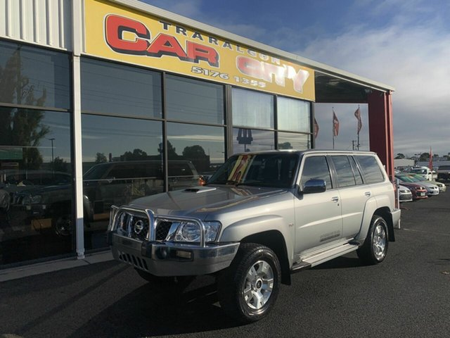 Used Nissan Patrol GU Series 9 ST (4x4), 2013 Nissan Patrol GU Series 9 ST (4x4) Silver 5 Speed Manual Wagon