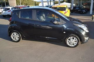 2013 Holden Barina Spark MJ MY13 CD Black 4 Speed Automatic Hatchback