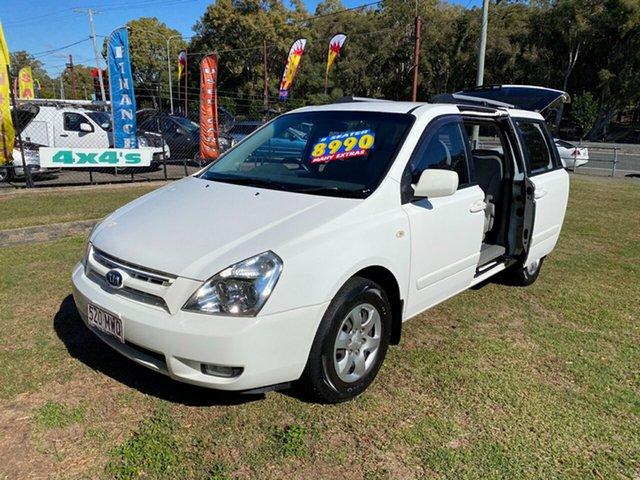 Used Kia Grand Carnival VQ EXE, 2009 Kia Grand Carnival VQ EXE White 5 Speed Sports Automatic Wagon