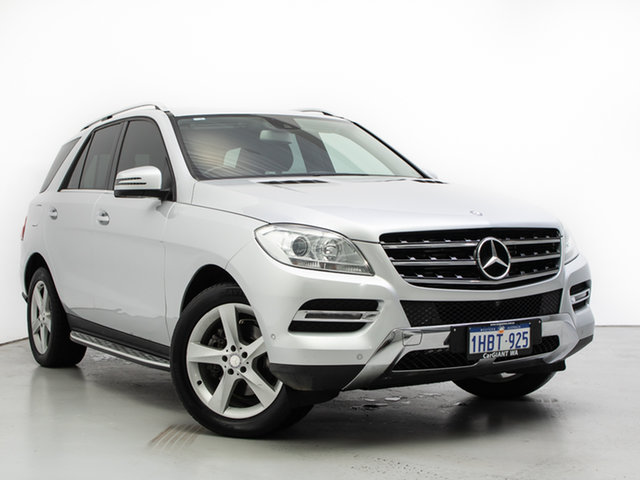 Used Mercedes-Benz ML250 CDI BlueTEC 166 4x4, 2013 Mercedes-Benz ML250 CDI BlueTEC 166 4x4 Silver 7 Speed Automatic Wagon