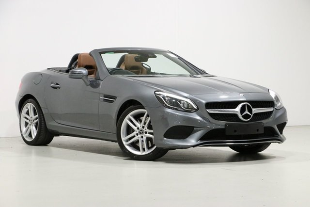 Used Mercedes-Benz SLC180 172 MY17.5 , 2017 Mercedes-Benz SLC180 172 MY17.5 Grey 9 Speed Automatic G-Tronic Roadster