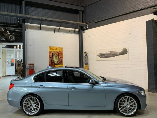 Used BMW 3 Series F30 MY0912 ActiveHybrid 3, 2012 BMW 3 Series F30 MY0912 ActiveHybrid 3 Blue 8 Speed Sports Automatic Sedan Hybrid