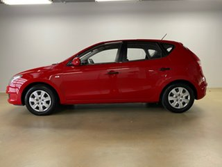2009 Hyundai i30 FD MY09 SX Red 4 Speed Automatic Hatchback