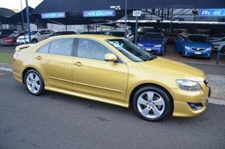 2007 Toyota Aurion GSV40R Sportivo ZR6 Yellow 6 Speed Auto Sequential Sedan.