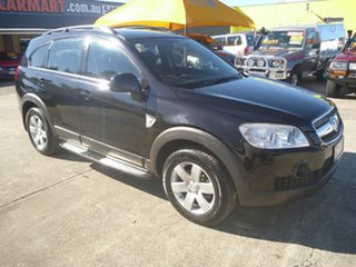 2008 Holden Captiva CG MY08 CX AWD Black 5 Speed Sports Automatic Wagon.
