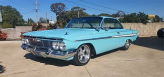 1961 Chevrolet Impala Turquoise 3 Speed Automatic Coupe