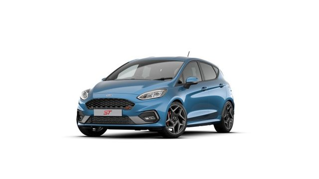 New Ford Fiesta WG 2020.25MY ST Elizabeth, 2020 Ford Fiesta WG 2020.25MY ST Ford Performance Blue 6 Speed Manual Hatchback