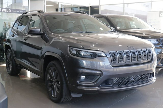 New Jeep Cherokee KL MY21 S-Limited Nunawading, 2020 Jeep Cherokee KL MY21 S-Limited Granite Crystal 9 Speed Sports Automatic Wagon