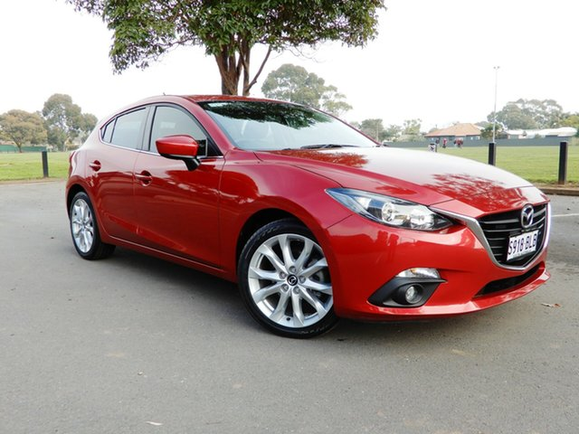 Used Mazda 3 BM5436 SP25 SKYACTIV-MT, 2016 Mazda 3 BM5436 SP25 SKYACTIV-MT Red 6 Speed Manual Hatchback