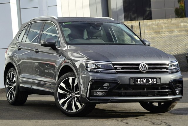 Demo Volkswagen Tiguan 5N MY20 162TSI DSG 4MOTION Highline, 2020 Volkswagen Tiguan 5N MY20 162TSI DSG 4MOTION Highline Grey 7 Speed Sports Automatic Dual Clutch