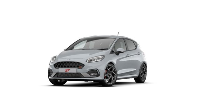 New Ford Fiesta WG 2020.75MY ST North Lakes, 2020 Ford Fiesta WG 2020.75MY ST Silver Fox 6 Speed Manual Hatchback