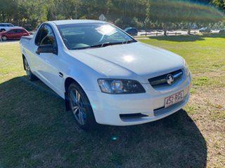 2010 Holden Ute VE II Omega White 6 Speed Sports Automatic Utility