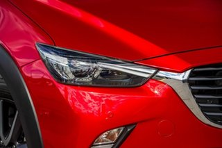2017 Mazda CX-3 DK4W7A Akari SKYACTIV-Drive i-ACTIV AWD Soul Red 6 Speed Sports Automatic Wagon