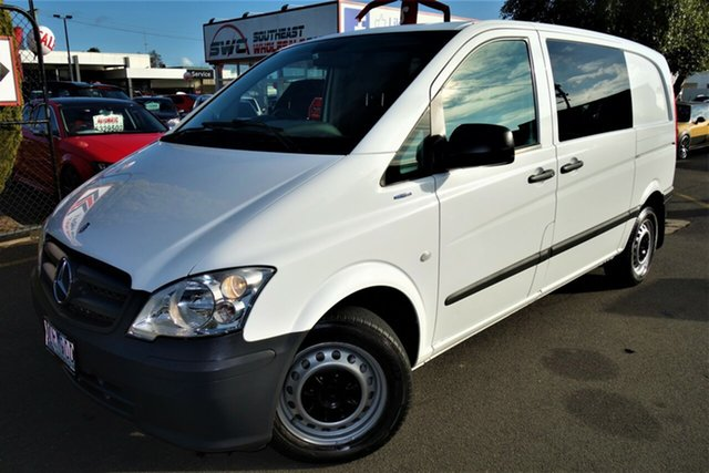 Used Mercedes-Benz Vito 639 MY11 113CDI SWB, 2012 Mercedes-Benz Vito 639 MY11 113CDI SWB White 6 Speed Manual Van