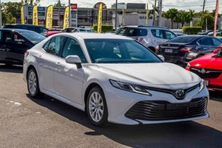 2018 Toyota Camry ASV70R Ascent White 6 Speed Sports Automatic Sedan.