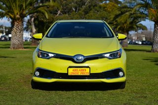 2016 Toyota Corolla ZWE186R Hybrid E-CVT Green 1 Speed Constant Variable Hatchback Hybrid