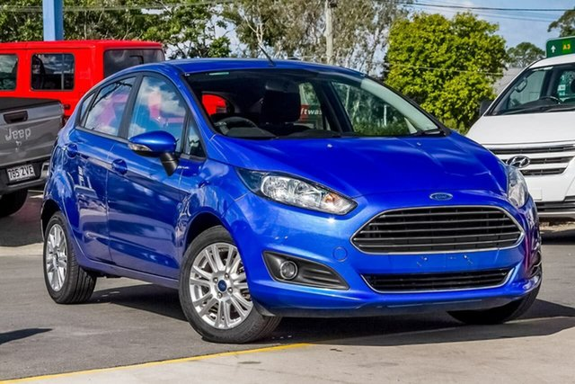 Used Ford Fiesta WZ MY15 Trend PwrShift, 2014 Ford Fiesta WZ MY15 Trend PwrShift Blue 6 Speed Sports Automatic Dual Clutch Hatchback