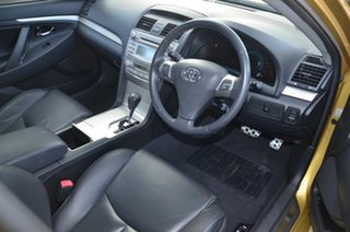 2007 Toyota Aurion GSV40R Sportivo ZR6 Yellow 6 Speed Auto Sequential Sedan