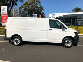 2019 Volkswagen Transporter T6 MY19 TDI340 LWB DSG White 7 Speed Sports Automatic Dual Clutch Van.