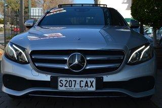 2016 Mercedes-Benz E-Class W213 E200 9G-Tronic PLUS Silver Metallic 9 Speed Sports Automatic Sedan.