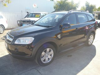 2008 Holden Captiva CG MY08 CX AWD Black 5 Speed Sports Automatic Wagon