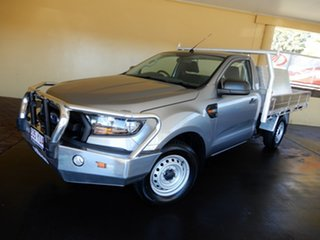 2015 Ford Ranger PX MkII XL 2.2 (4x2) Silver 6 Speed Manual Cab Chassis