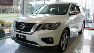 2019 Nissan Pathfinder R52 MY17 Series 2 ST-L (4x2) Snow Storm Continuous Variable Wagon.