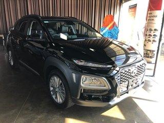 2020 Hyundai Kona OS.3 MY20 Elite 2WD Black 6 Speed Sports Automatic Wagon.