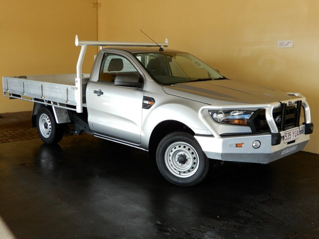 Used Ford Ranger PX MkII XL 2.2 (4x2), 2015 Ford Ranger PX MkII XL 2.2 (4x2) Silver 6 Speed Manual Cab Chassis