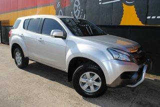 2014 Isuzu MU-X MY14 LS-M Rev-Tronic 4x2 Silky Silver 5 Speed Sports Automatic Wagon.
