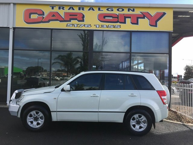Used Suzuki Grand Vitara JT (4x4), 2007 Suzuki Grand Vitara JT (4x4) White 5 Speed Manual Wagon