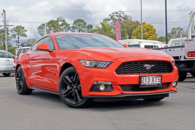 Used Ford Mustang FM Fastback, 2016 Ford Mustang FM Fastback Orange 6 Speed Manual Fastback