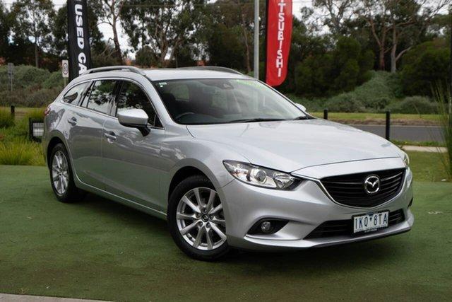 Used Mazda 6 GL1031 Sport SKYACTIV-Drive, 2017 Mazda 6 GL1031 Sport SKYACTIV-Drive Silver 6 Speed Sports Automatic Wagon