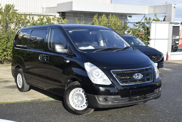 Used Hyundai iLOAD TQ3-V Series II MY17 , 2017 Hyundai iLOAD TQ3-V Series II MY17 Black 6 Speed Manual Van