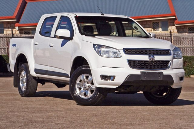Used Holden Colorado RG MY15 LT Crew Cab, 2014 Holden Colorado RG MY15 LT Crew Cab White 6 Speed Sports Automatic Utility