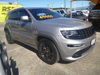 2015 Jeep Grand Cherokee WK MY15 SRT Silver 8 Speed Sports Automatic Wagon.
