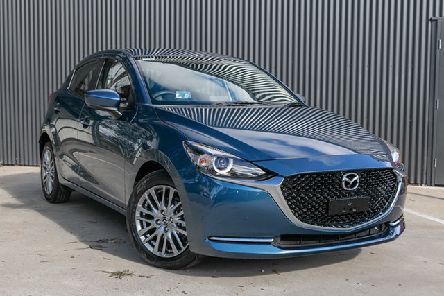 New Mazda 2 DJ2HAA G15 SKYACTIV-Drive Evolve, 2020 Mazda 2 DJ2HAA G15 SKYACTIV-Drive Evolve Eternal Blue 6 Speed Sports Automatic Hatchback