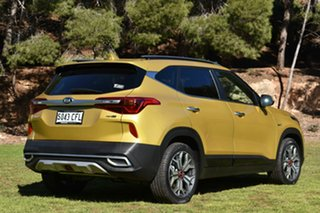 2020 Kia Seltos SP2 MY20 GT-Line DCT AWD Starbright Yellow 7 Speed Sports Automatic Dual Clutch.