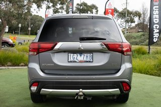 2016 Mitsubishi Outlander ZK MY16 XLS 4WD Grey 6 Speed Sports Automatic Wagon