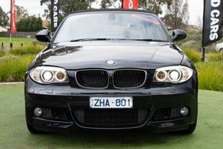 2012 BMW 125i E88 LCI MY0911 125i Black 6 Speed Manual Convertible.