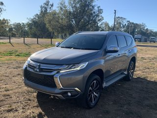 2016 Mitsubishi Pajero Sport QE MY17 GLX Grey 8 Speed Sports Automatic Wagon.