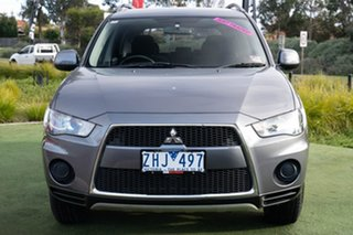 2012 Mitsubishi Outlander ZH MY12 LS Grey 6 Speed Constant Variable Wagon.